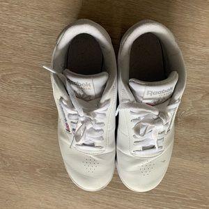 reebok white princess sneakers